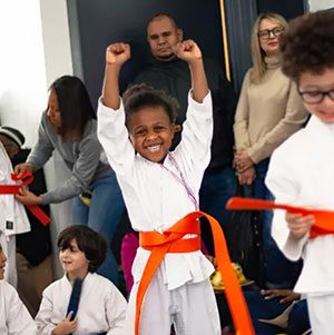 Pouncing Tigers Martial Arts Academy kids class